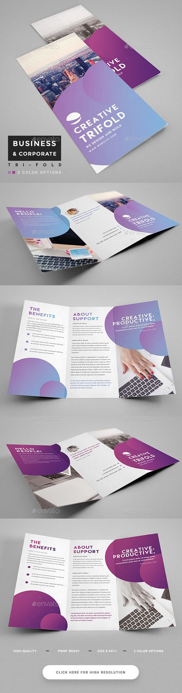 Best Trifold Brochure Selol Ink