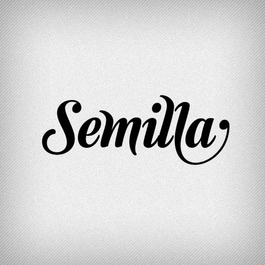 Semilla by Ale Paul. This typeface was made for editorial settings, from headlines to children's books.
