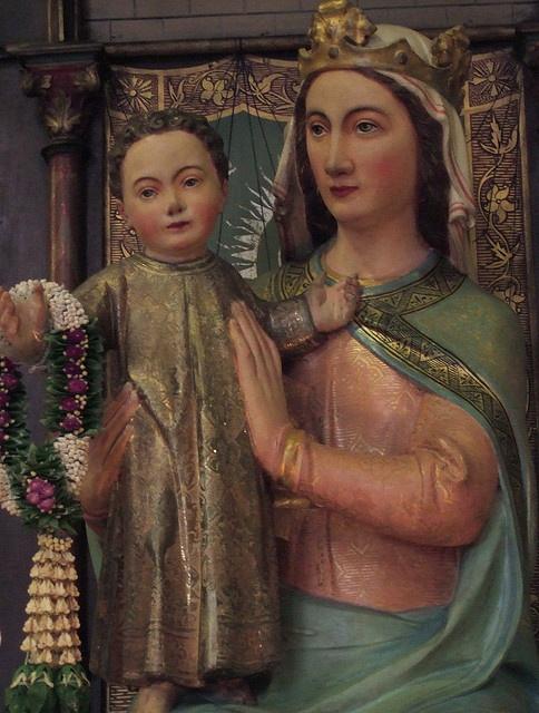 Madonna and child  The Roman Catholic Church of St Franciscus Xavierus, De Krijtberg, Amsterdam