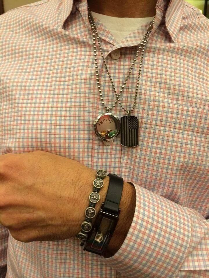 South Hill designs for men!! Yes why not?! Dog tags available now!