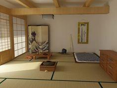 Les 25 meilleures id es de la cat gorie chambre traditionnelle sur pinterest d coration for Chambre japonaise traditionnelle