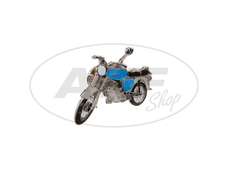 Pin Simson S50 in Blau #simson #s50 #pin
