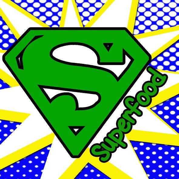 Superfood Logo by Lynda Jayne https://www.facebook.com/pages/Lynda-Jayne-Designs/128704893891601