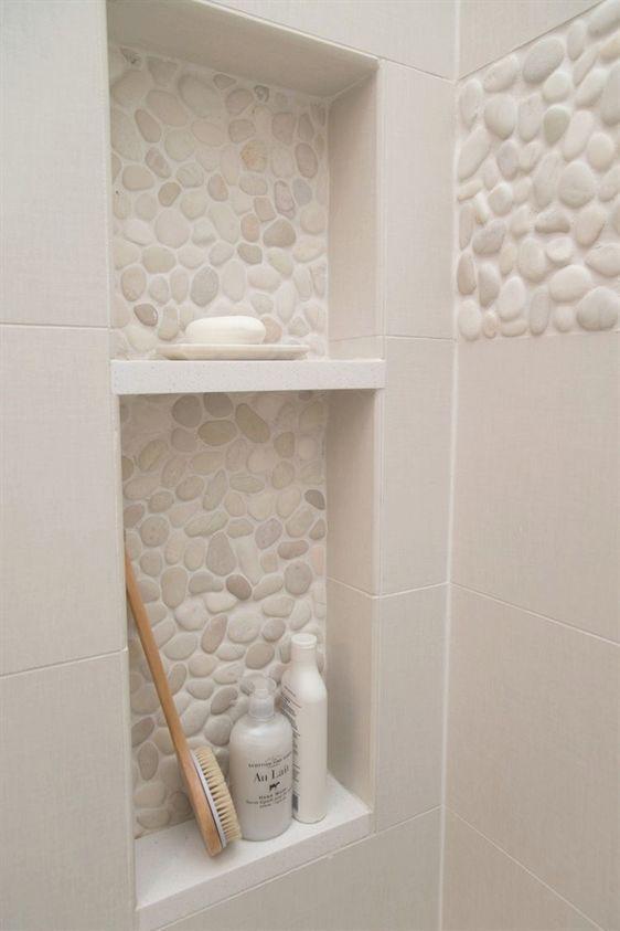 Master Badezimmer Umgestalten Dusche Shampoo Nis Dusche