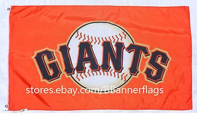 new San Francisco Giants 3X5 Ft Flag-MLB Giants Banner flags-Free shipping