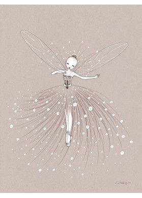 Fairy Dance by Cathy Delanssay | Ilustraciones