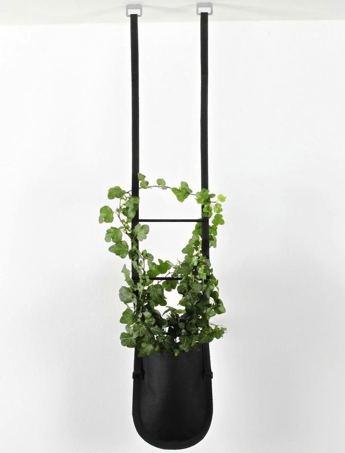 article-imageNot your mother's macrame plant hangers: Authentic's Urban Garden Plant Bags offer a decidedly modern means to create an indoor garden when space is tight.