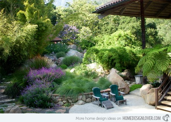 17 best images about ideas for a hill in backyard on for Ornamental garden features