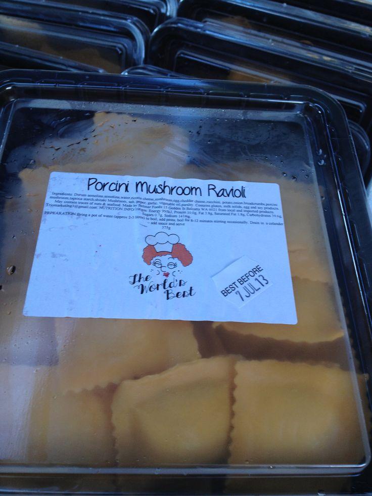 Fresh Pasta from The World's Best Pasta...yum...
