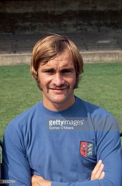 Ipswich Town Football Club player Mick Mills