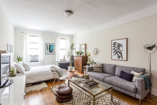 Tamar has managed to squeeze plenty of living into her 270 square foot studio in Chelsea.