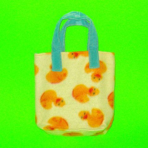 Rubber Duck Fleece Purse - Mookie Designs