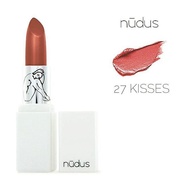 FEATURE PRODUCT: NUDUS 27 KISSES | We all deserve to be kissed 27 times a day! Head over to www.theorganicproject.com.au to see this fabulous lipstick! Key Benefits: • vitamins, A, B, C, D, E and K, antioxidants, including pomegranate, raspberry and kiwi cold pressed oils • 27 active natural ingredients, helping against environmental stress • colours made from flowers, fruits, herbs and minerals • free from parabens, petro-chemicals, lanolin, hydrogenated oils, fd&c and lake dyes…