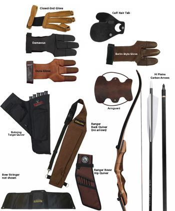 """Samick Sage 62"""" Takedown Bow Kit Right handed 50lb draw weight"""