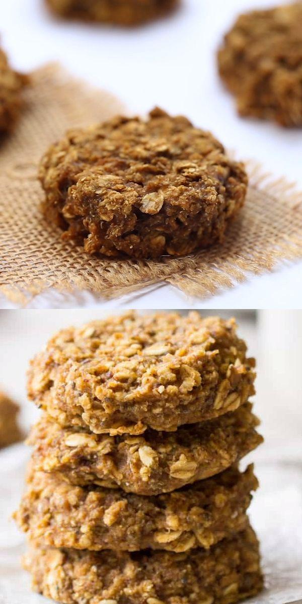 Pumpkin Pie Quinoa Breakfast Cookies