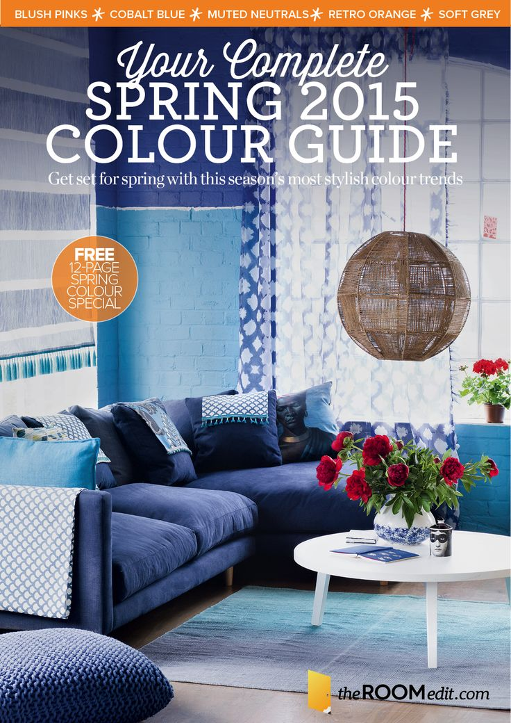 In need of some colour advice? We've created this fabulous 12-page Spring Colour Special which reveals this season's most stylish colour trends with tips on how to use them. Download it here for FREE: http://emails.ipcmedia.co.uk/theROOMeditdownloadsocial