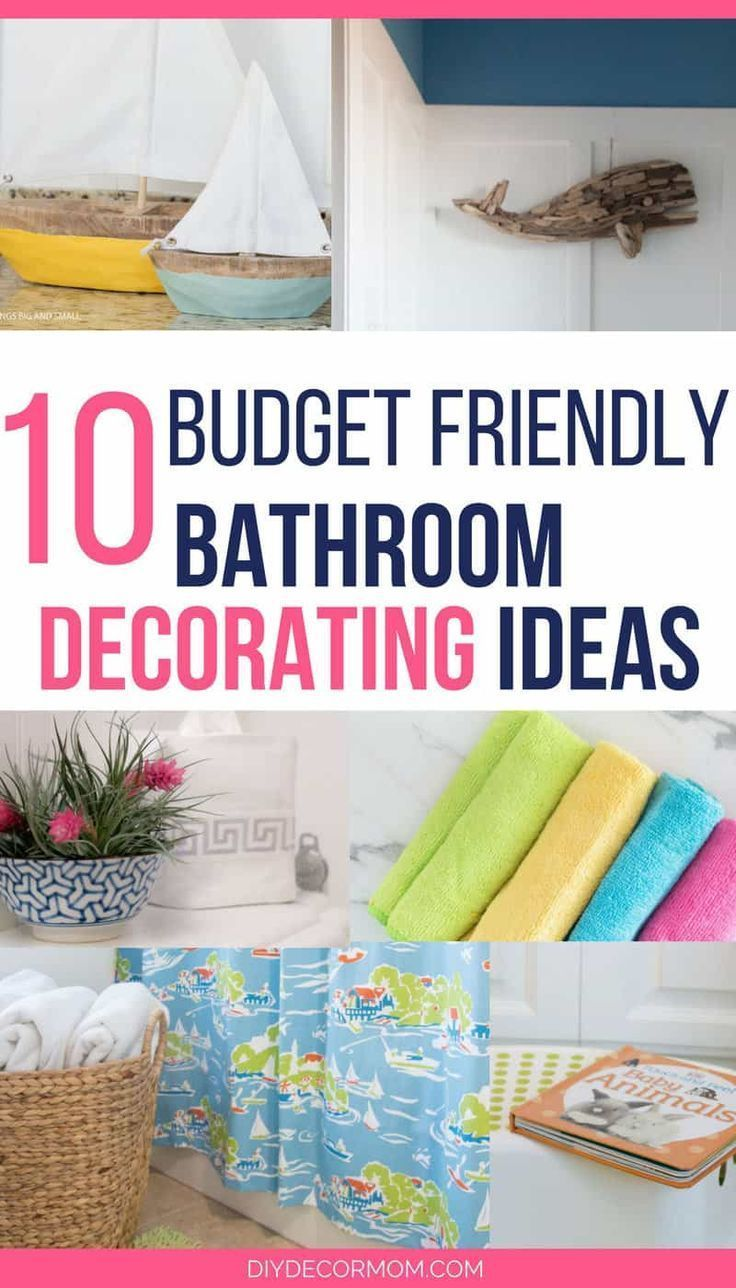 Looking For Some Budget Friendly Bathroom Decoration Ideas And Inspiration To Upgrade Your Small Into A Gorgeous Master With Style