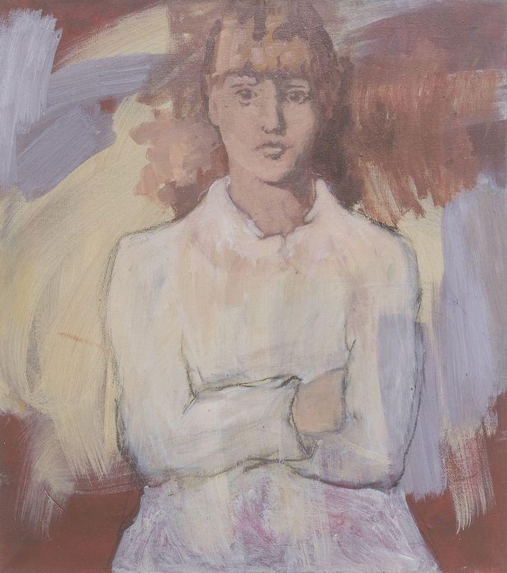 Irina Schuvaloff, The time of truth 2015, oil on canvas 73 x 60