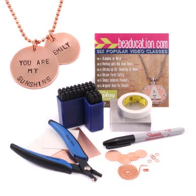 Metal Stamping Tools Stamping on Metal Starter Kit