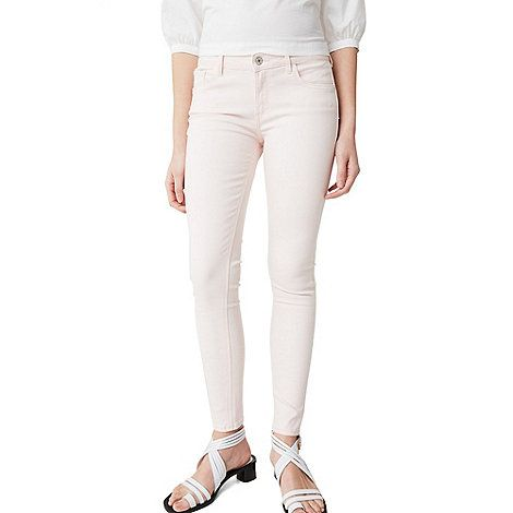 Mango Pink 'Kim' skinny push-up jeans   Debenhams