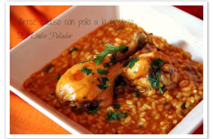 ARROZ CALDOSO CON POLLO A LA MOSTAZA FUSSIONCOOK:(para 4 personas): 1 cebolla, 3 dientes de ajo, 8 jamoncitos de pollo, Sal y pimienta, 2 cucharadas de ketchup ,2 cucharadas de Mostaza Louit al estragón, Cúrcuma para dar color y aroma, Perejil picado, 300 g de arroz, Medio litro de caldo de pollo, Aceite de oliva virgen extra, Un botellin de sidra. Ponemos aceite de oliva en la cubeta de la Fussioncook. Salpimentamos los jamoncitos de pollo y los vamos sellando en el aceite(función sofreir)…