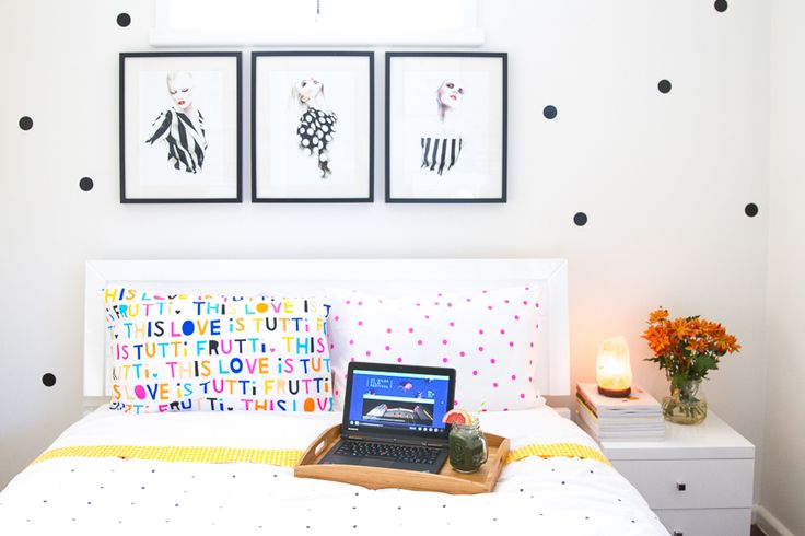 Polka dot bed linen ❤️ see more on www.kisforkani.com