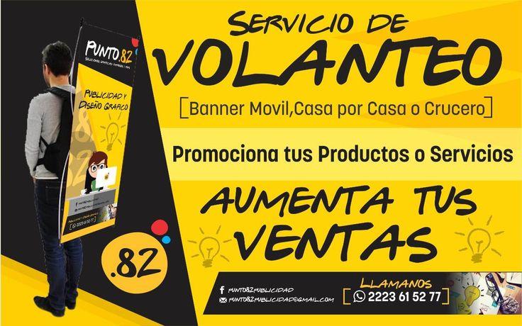 SERVICIO DE VOLANTEO PUNTO 82 PUBLICIDAD