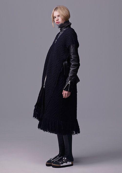 sacai luck 2015-16年秋冬コレクション - 予想外の組み合わせが生む、ネオクラシック | ニュース - ファッションプレス