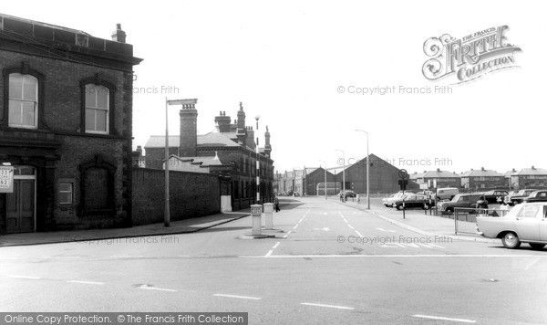 Widnes, Moore Lane c.1960, from Francis Frith
