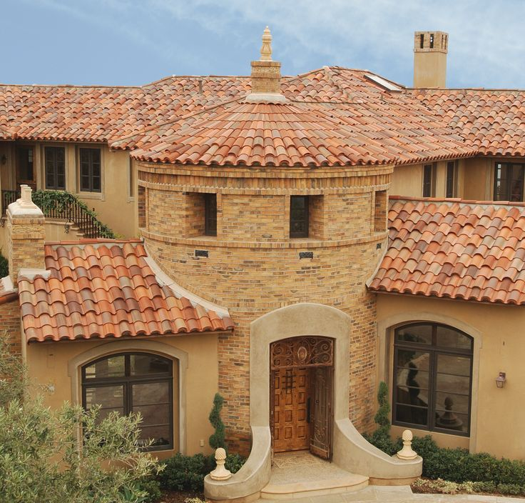 Thatu0027s Some Curb Appeal   A US Tile By Boral Clay 2 Piece Mission Tile With