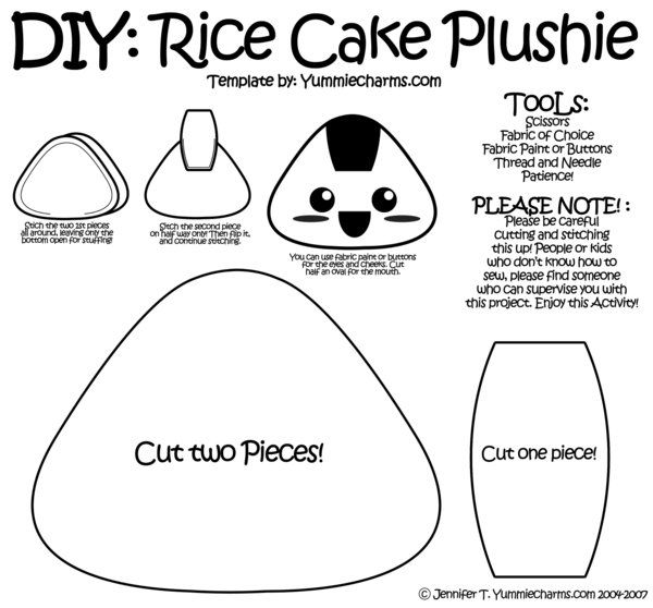 1000 ideas about plush pattern on pinterest diy doll for Felt plushie templates