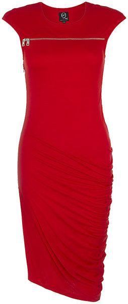 McQ by Alexander McQueen Sbend Zip Dress