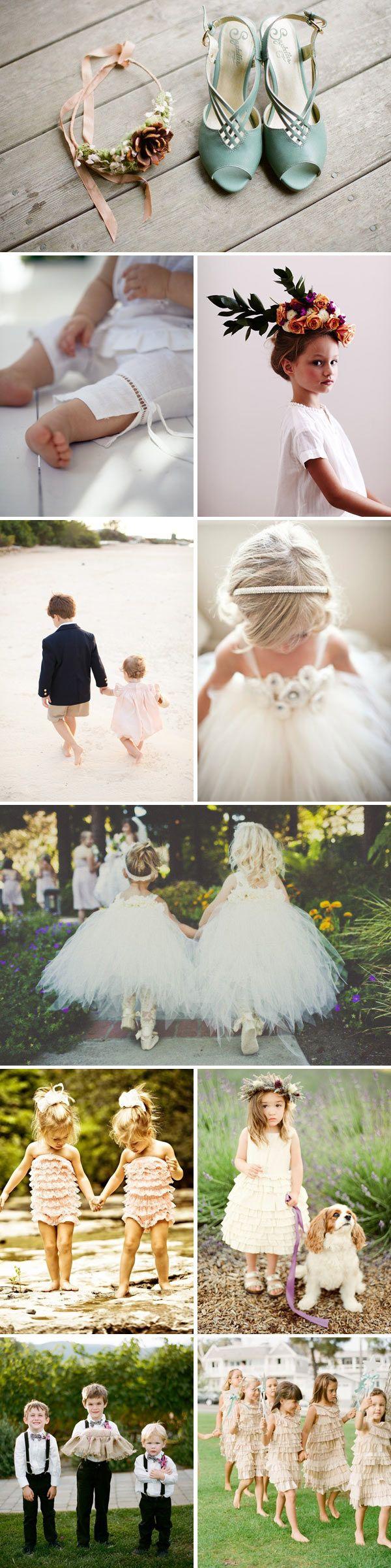 14 best Flower Children images on Pinterest | Bridesmaids, Children ...
