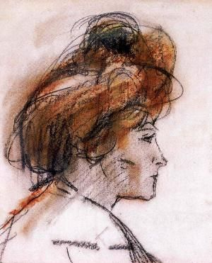 Isaac Israels - Klein meisje met rood haar