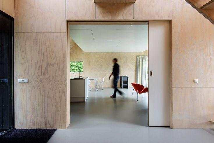 Zomerhuis Midlaren Interieur-schuifdeur