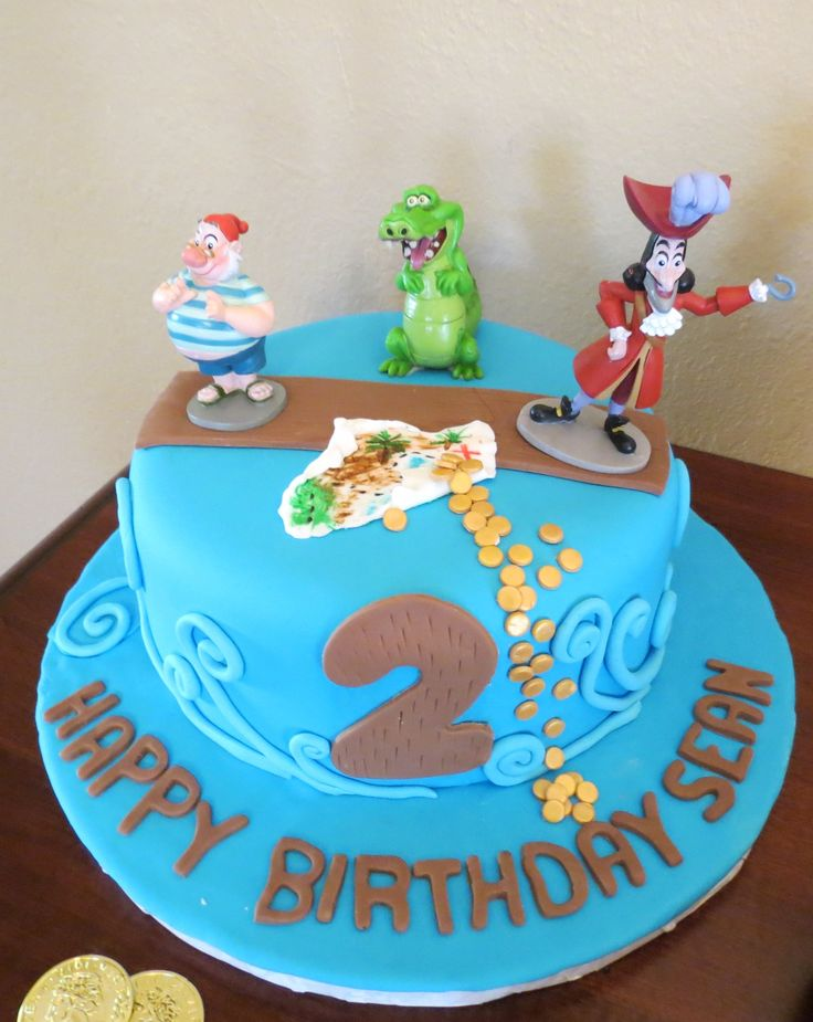 jake and the neverland pirates cake gav s birthday pirates birthday ...