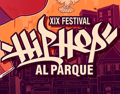 """Check out new work on my @Behance portfolio: """"Hip Hop al Parque"""" http://on.be.net/1FJFXIJ"""