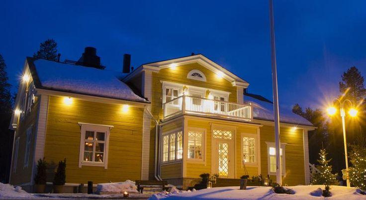 泊ってみたいホテル・HOTEL フィンランド >ロヴァニエミ>サンタクロース村まで車で10分です>オウナスヴァーラン ピアチ(Ounasvaaran Pirtit)