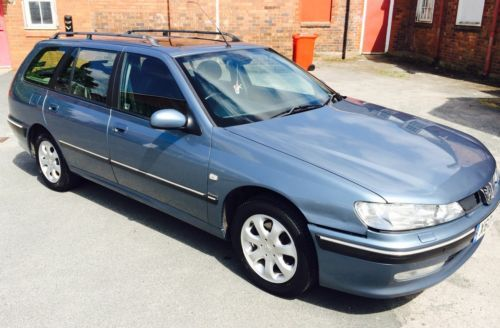 PEUGEOT-406-EXECUTIVE-HDI-DIESEL-FULL-HEATED-ELECTRIC-BLACK-LEATHER-INTERIOR