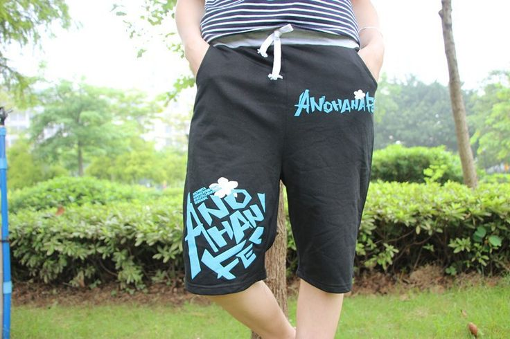 Летние новые шорты девушки аниме ANOHANA шорты до колен - шорты пляжные шорты для унисекс