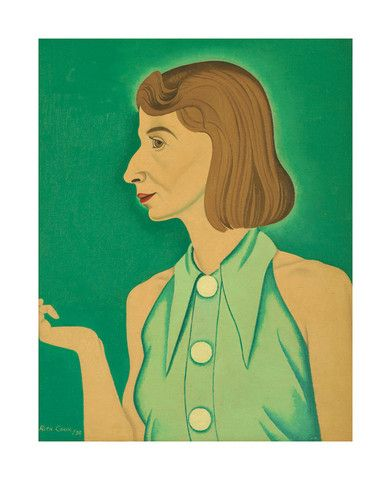 Rita Angus - Cleopatra 1938