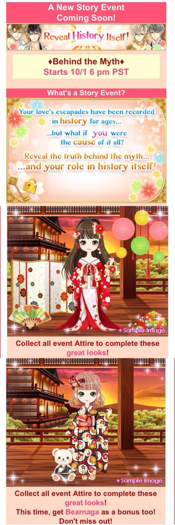Behind the Myth story event #3