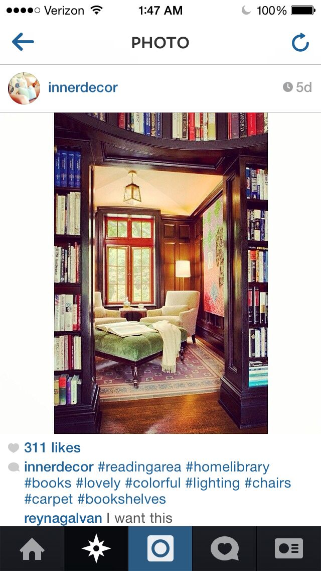Library nook