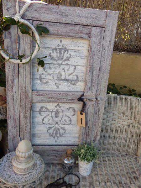 Las 25 mejores ideas sobre puertas recicladas en for Ideas para reciclar muebles viejos
