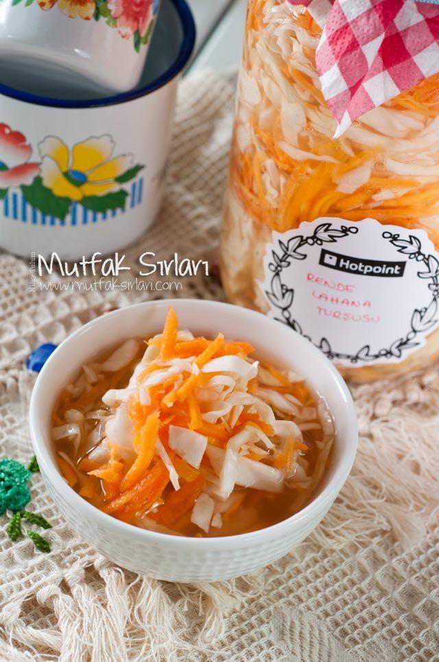 Havuçlu Lahana Turşusu Tarifi | Mutfak Sırları