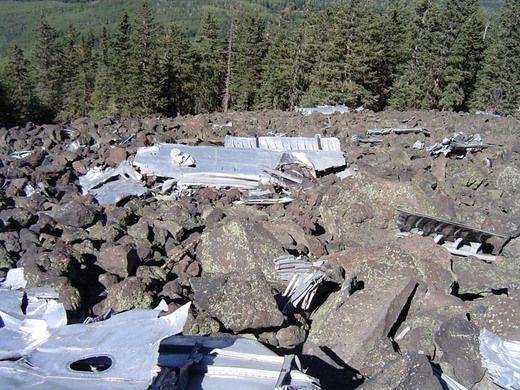 Humphreys Peak B-24 Wreckage – Flagstaff, Arizona | Atlas Obscura