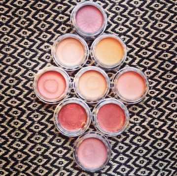LO Colour Makeup. Lip pots. Organic. Sweden.