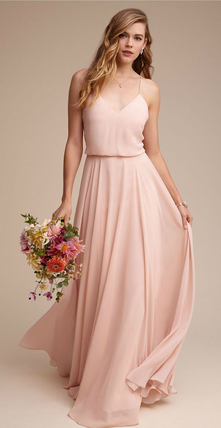 59 best Peach Bridesmaid Dresses images on Pinterest ...