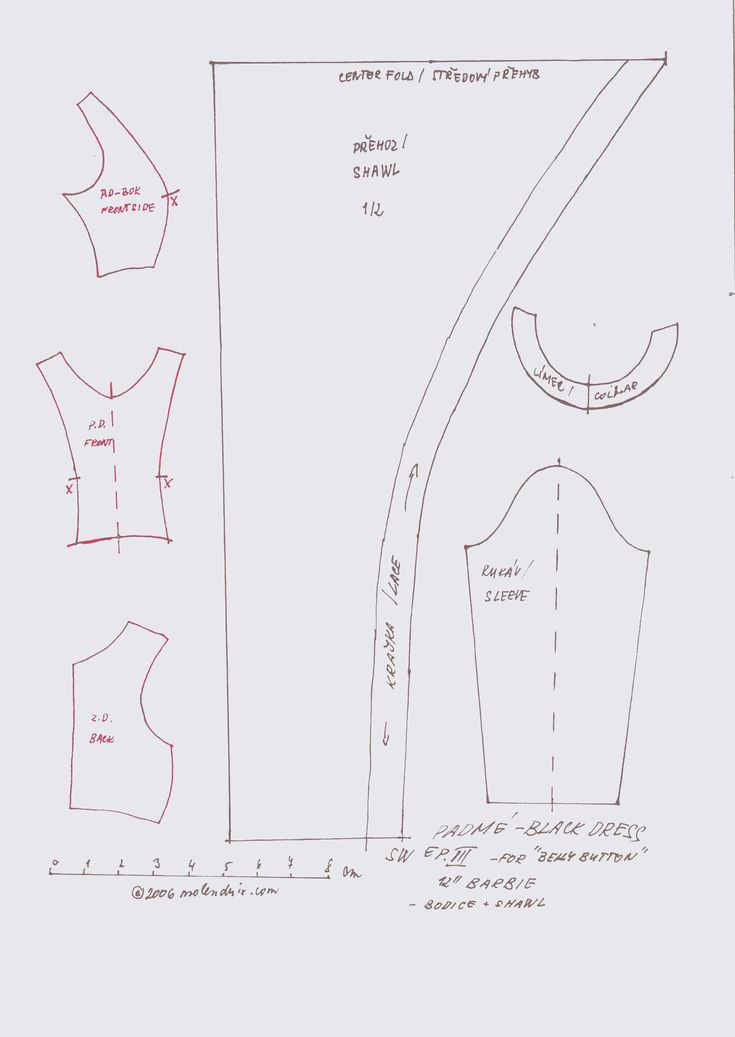 This is an image of Stupendous Free Printable 18 Inch Doll Clothes Patterns