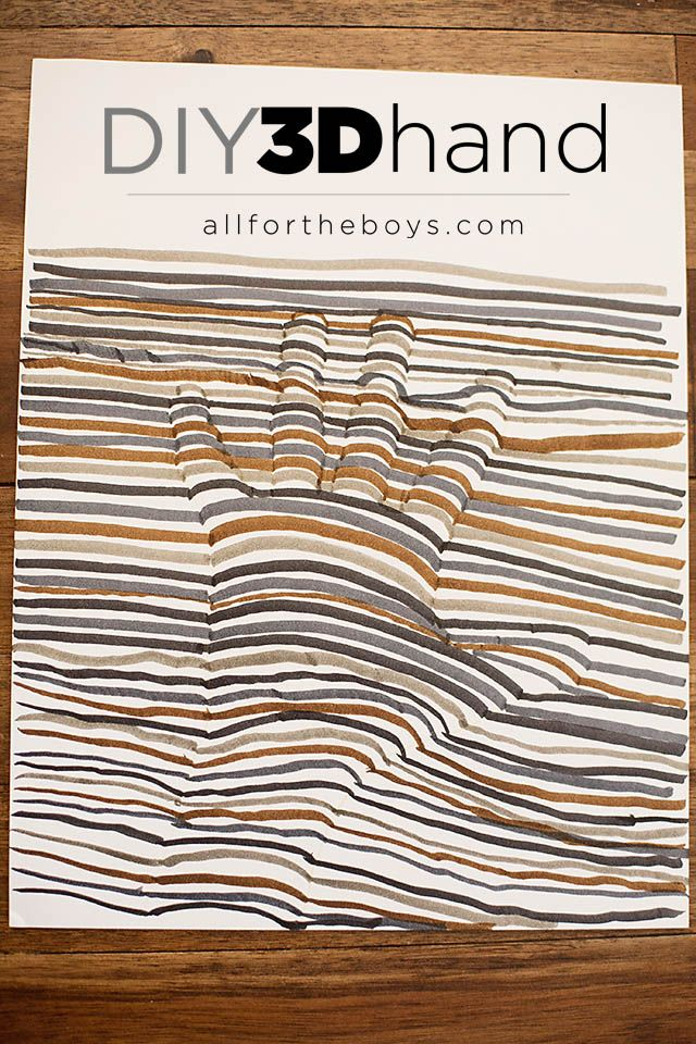 All for the Boys - All for the Boys - DIY 3D HandDrawing